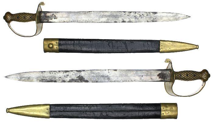 Civil War Preservations Swords Of Honor Preview Item M1842 Navy Cutlass Dated 1843