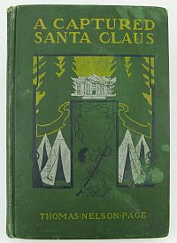 A Captured Santa Claus - Childrens civil war story Book-1902