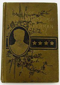 Life of Gen. William Tecumseh Sherman - Dealer sampler- 1891