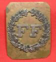 Mass. Militia Shoulder Plate - Fitchburg Fusileers