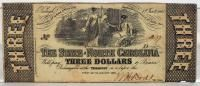 North Carolina $3 note - scarce