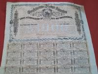 Confederate States $1,000 Loan Bond -Second Series
