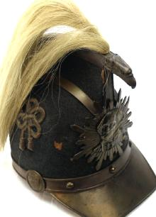 Washington Greys Dragoon Shako C1850 New York