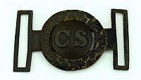 CSA 2 piece belt buckle - dug buckle