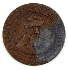 John Brown Exicution Token Coin- 1859