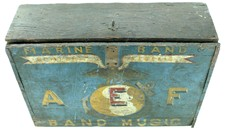 USMC - Sheet Music Box