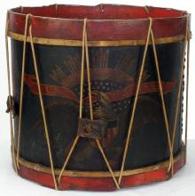 United States Marines - Civil War Eagle Drum - Rare