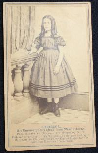 CDV-Rebecca/An Emancipate Slave from New Orleans
