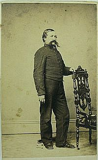 CDV - Unidentified Union Soldier - Shell Jacket