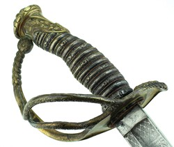 M 1840 Cavalry Officer Saber - Presentation Grade