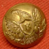 Two Piece Riflemen Button