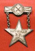 28th and 147th Pa. Vol. Badge